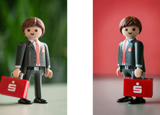 Playmobil - 30799642-ger - Banker with bag. Sparkasse