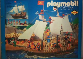 Playmobil - 3550-lyr - pirate ship