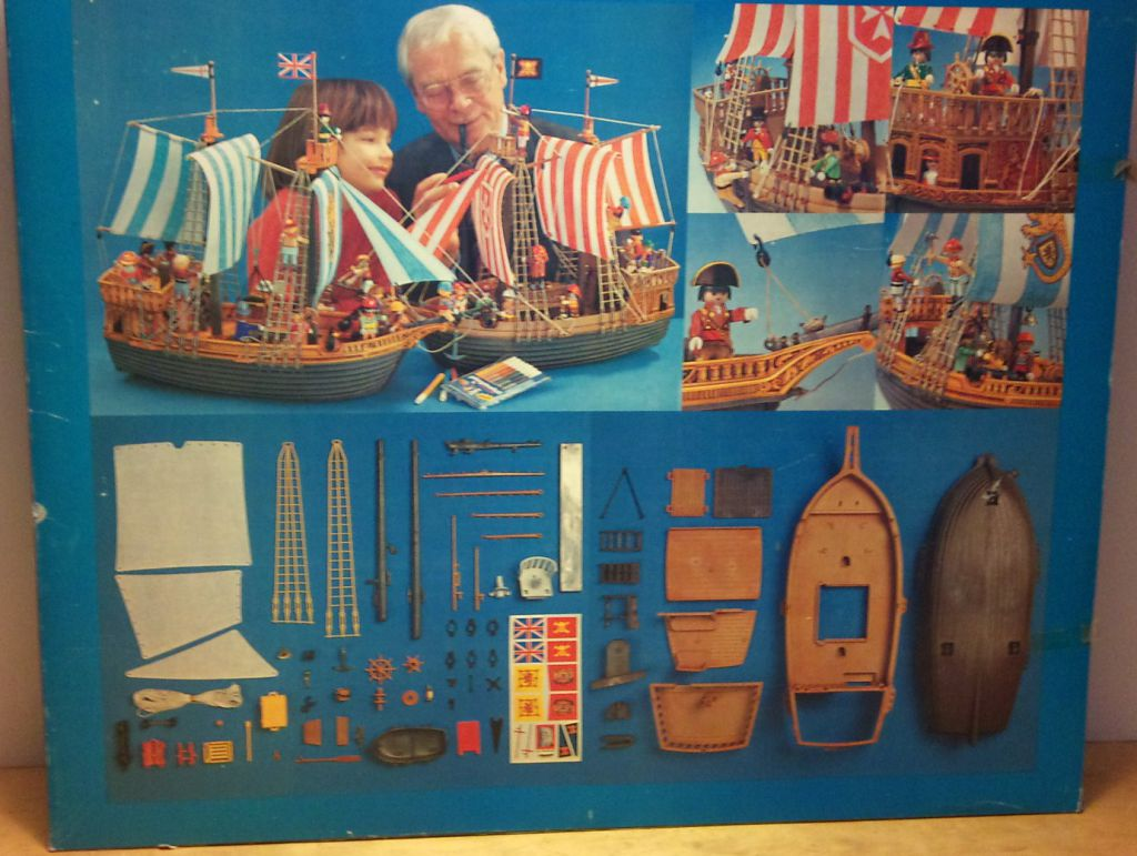 Playmobil 3550-lyr - pirate ship - Box