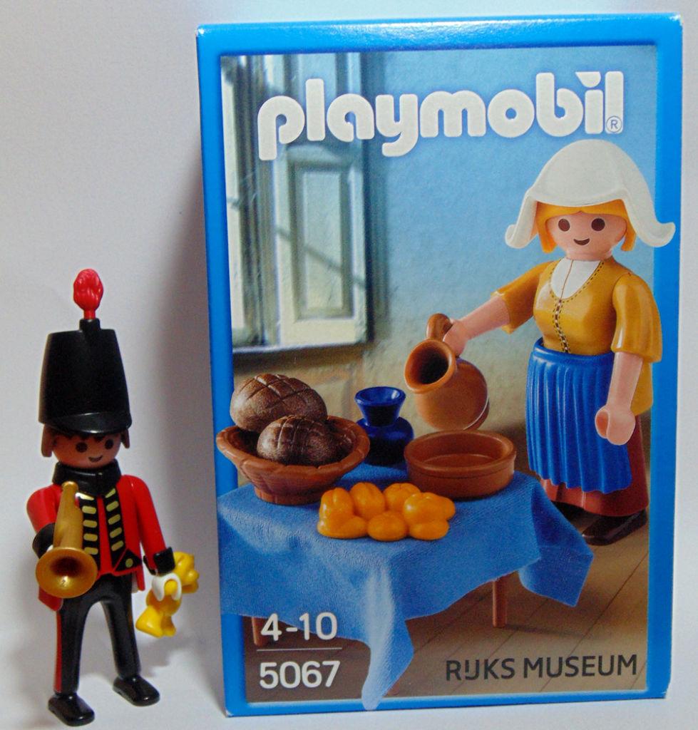 Playmobil review 5067 la lechera de vermeer klickypedia - La lechera de vermeer ...