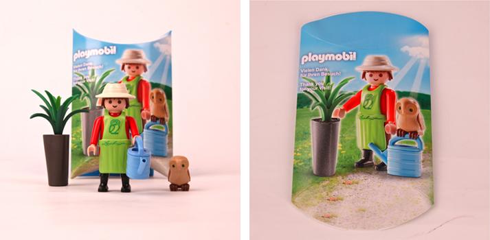 Playmobil 30799362 - Lechuza gardener with owl - Box