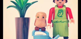Playmobil - 30799362 - Lechuza gardener with owl