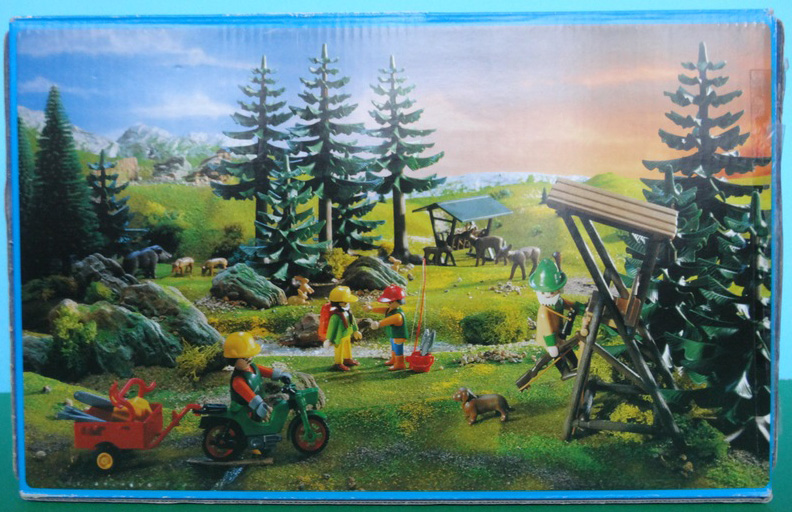 Playmobil 3741 - Hunter's Stand - Back