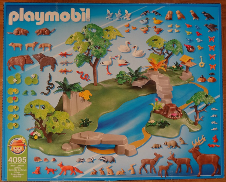 Playmobil 4095 - Animal Paradise - Back