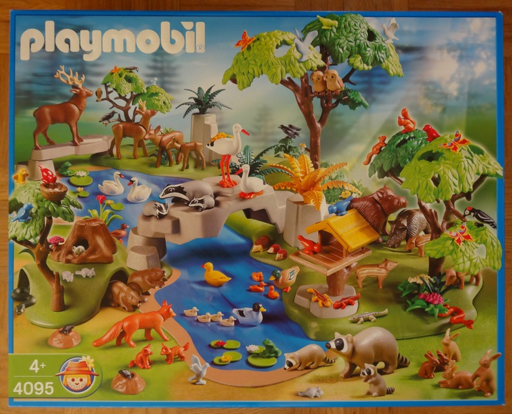 Playmobil 4095 - Animal Paradise - Box