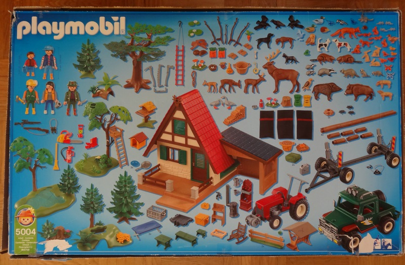 Playmobil 5004 - Forest Mega-Set - Back