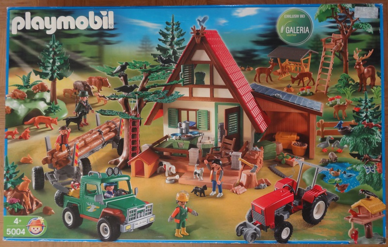 Playmobil 5004 - Forest Mega-Set - Box