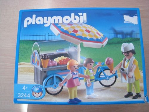 Playmobil 3244s2 - Ice Cream Cart - Box