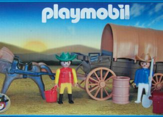 Playmobil - 13278v1-ant - Covered Wagon
