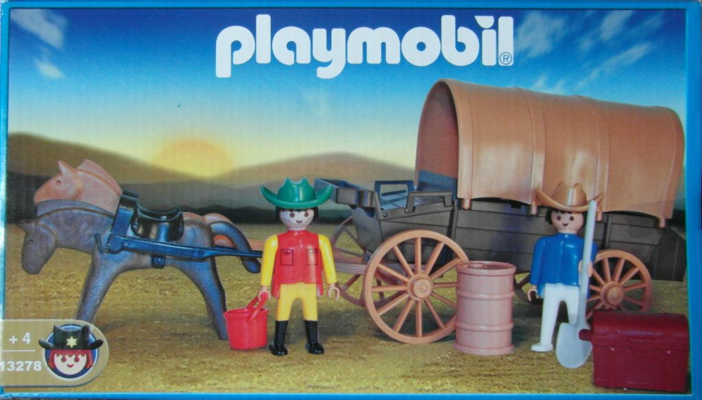 Playmobil 13278v1-ant - Covered Wagon - Box