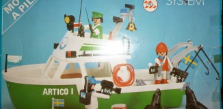 Playmobil - 3722-trol - Arctic expedition ship
