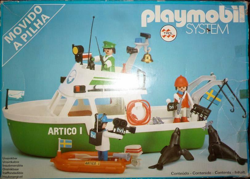 Playmobil 3722-trol - Arctic expedition ship - Box