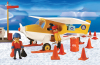 Playmobil - 3457-ant - yellow artic plane