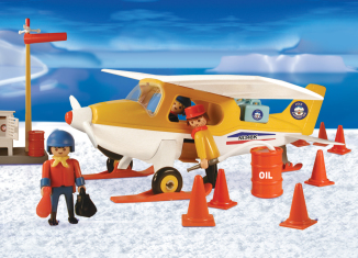 Playmobil - 3457-ant - yellow artic plane