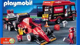 Playmobil - 3289 - Formula One Racing Team