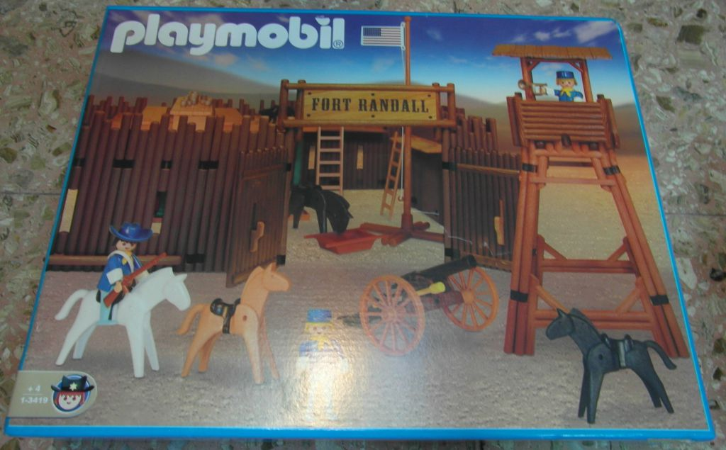 Playmobil 1-3419-ant - Fort Randall - Box