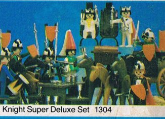 Playmobil - 1304-sch - Knight Super Deluxe Set