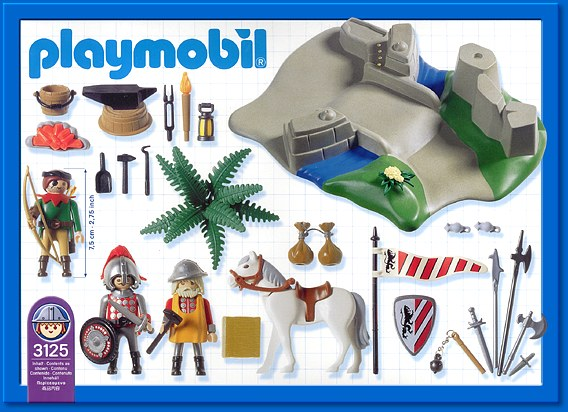 Playmobil 3125s2 - Superset Knights - Back