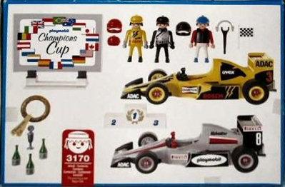Playmobil 3170s2-usa - Race Car Set - Back