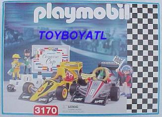 Playmobil - 3170s2-usa - Race Car Set
