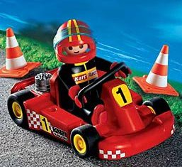 Playmobil - 3251s2 - Go Kart Red