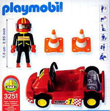 Playmobil 3251s2 - Go Kart Red - Back