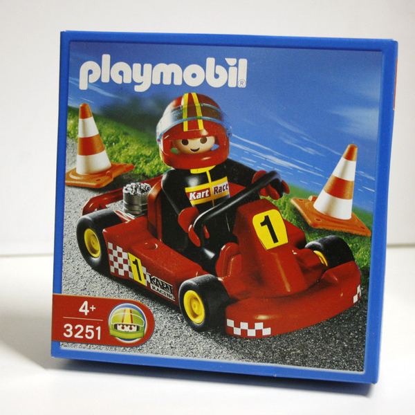 Playmobil 3251s2 - Go Kart Red - Box