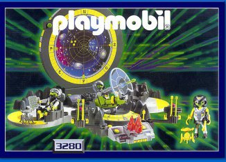 Playmobil - 3280s2 - Alien Control Center