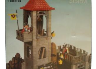 Playmobil - 3445-fam - Torreon Prision Medieval