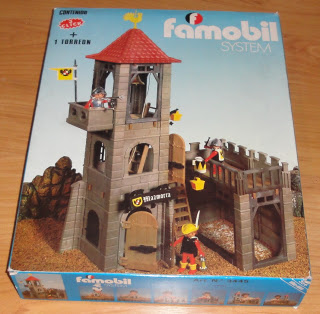 Playmobil 3445-fam - Torreon Prision Medieval - Box