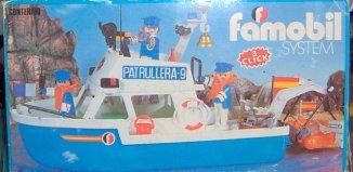 Playmobil - 3539-fam - Police boat