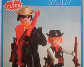 Playmobil - 3581-fam - Sheriff and Cowboy
