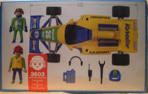 Playmobil 3603v1 - Formula 1 Racing Car - Volver