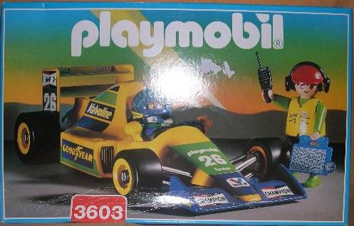 Playmobil 3603v1 - Formula 1 Racing Car - Caja