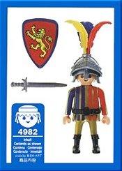 Playmobil 4982-ger - Birthday Knight - Back