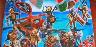 Playmobil - 5001 - Wolf Clan Warriors Combination Set