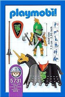 Playmobil 5731-usa - Jouster - Back