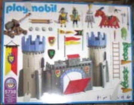 Playmobil 5738-usa - Catapult Castle - Back