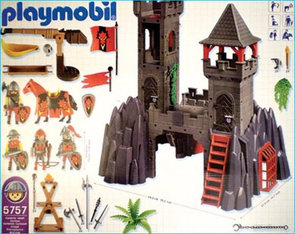 Playmobil 5757-usa - Dragon Fortress - Back