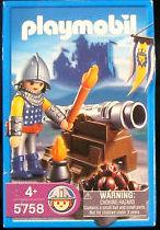 Playmobil 5758-usa - Cannon Guard - Box