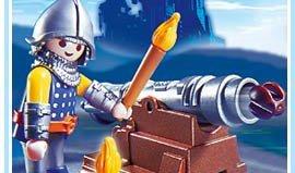 Playmobil - 5758-usa - Cannon Guard