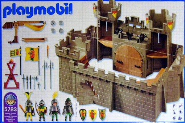Playmobil 5783-usa - Eagle Castle - Back