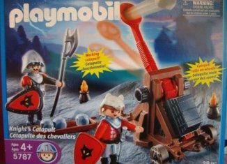 Playmobil - 5787-usa - Knights' Catapult