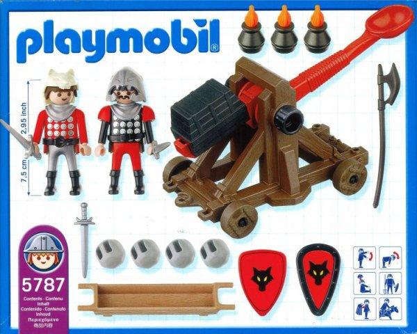 Playmobil 5787-usa - Knights' Catapult - Back