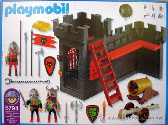 Playmobil 5794-usa - Knight's Dungeon - Back
