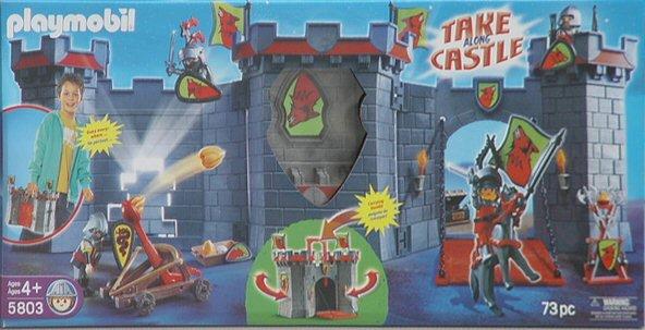 Playmobil 5803-usa - Knight's Take Along Castle - Box