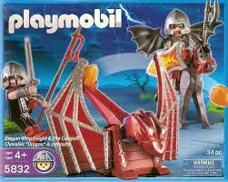 Playmobil - 5832-usa - Dragon Wing Knight & Fire Catapult