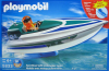 Playmobil - 5833-usa - Speedboat with underwater motor