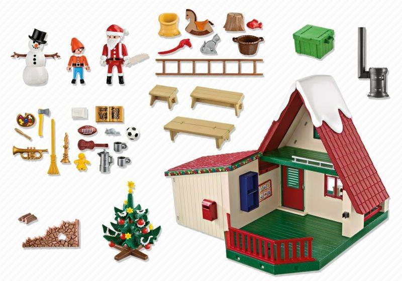 Playmobil 5976 - Santa's Home - Back