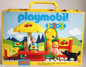Playmobil - 6603 - Market Stand